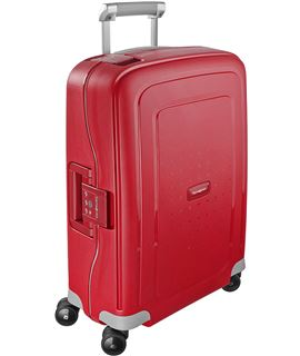 Samsonite lite-shock cabina 55 cm 4r chili red - SAMSONITE-LITE-SHOCK-55-4R-ROJO