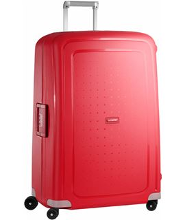 SAMSONITE -S-CURE-81 CM-4-RUEDAS-CRIMSON RED