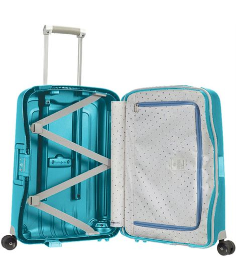Samsonite flux mediana 68 cm 4r exp ocean blue - SAMSONITE-FLUX-MEDIANO-68-4R-OCEAN-BLUE