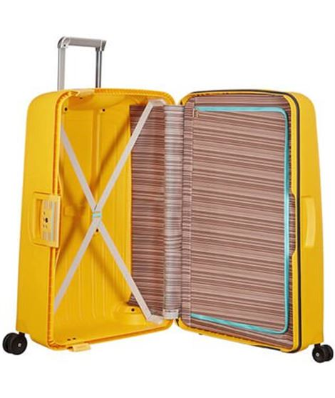 Trolley samsonite neopulse mediano 69 cm 4 ruedas azul metalizado - SAMSONITE-NEOPULSE-69-CM-AZUL-METALIZADO