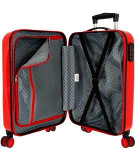 Trolley cabina 50 cm.2r blando superwings airport - TROLLEY-CABINA-50CM-2R-BL-SUPERWINGS-AIRPORT