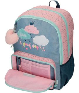 Trolley cabina 55 cm 4r.roll road pretty blue - 4269161