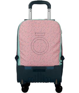 Trolley cabina 55 cm.4r. roll road butterfly - 5231761